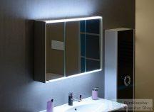 Sapho BATU tükrösszekrény 100x71x16 cm, LED világítással, fehér 1141130