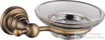 Sapho DIAMOND szappantartó, bronz 1318-02