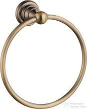 Sapho DIAMOND törölköző tartó, kör, bronz 1318-06