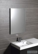 Sapho PLAIN tükör 50x70cm, lekerekített sarkokkal, akasztó nélkül 1501-25