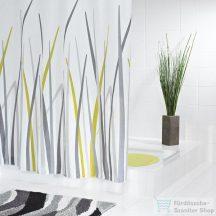 Sapho GRAS zuhanyfüggöny 180x200, polyester 42385