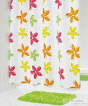 Sapho FLEUR zuhanyfüggöny 180x200cm, polyester 473500