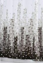 Sapho SKYLINE zuhanyfüggöny 180x200cm, polyester 47367