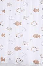 Sapho FISHES zuhanyfüggöny 180x200cm, polyester 47819