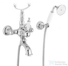 Bugnatese OXFORD Kádcsaptelep zuhanyszettel króm színben 6302