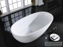 AREZZO design Silk 170x85 matt fehér szabadon álló kád AR-SILK170