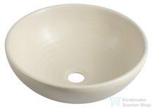 Sapho ATTILA kerámia mosdó 44x14 cm, elefántcsont színű DK005